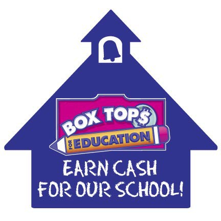 Please help our school by donating Box Tops all summer long!