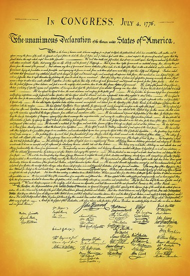 Photo of: Declaration of Independence