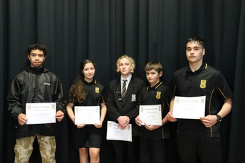 Achieving Excellence in NCEA - Congratulations!