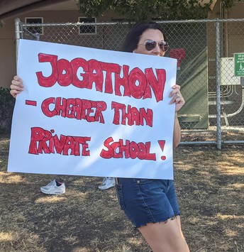We Need Jog-a-thon Volunteers at Pick-up and Drop-Off This Week