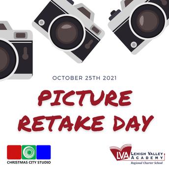 LVA Picture Retake Day 0 Monday, October 25, 2021 (Grades K-12)
