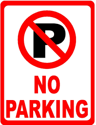 No Parking on 11th Ave or Indian Spring Drive