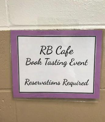 Book Tasting Event