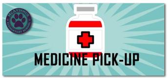 Medication Pick-Up Deadline: Wednesday, June 16th