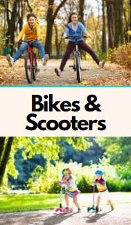 Bicycles/Scooters