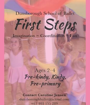 FIRST STEPS BALLET