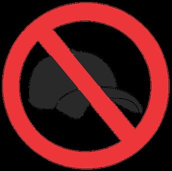 No Baseball Hats