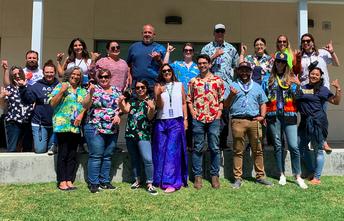 AGHS Office Staff Went Hawaiian!