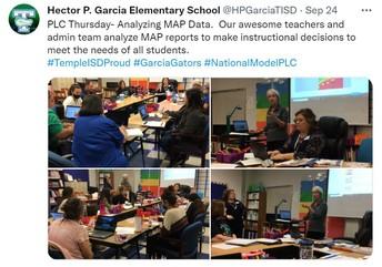 PLC Thursday for our teachers!!!