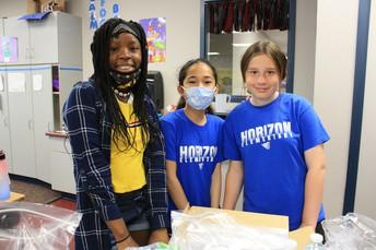 Horizon Students Help the Homeless