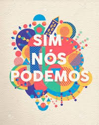 """Podemos translates to """"Yes, we can!"""""""