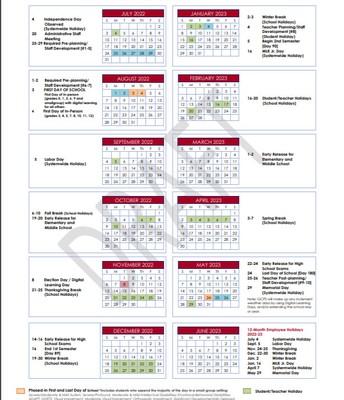 Calendar Option #2