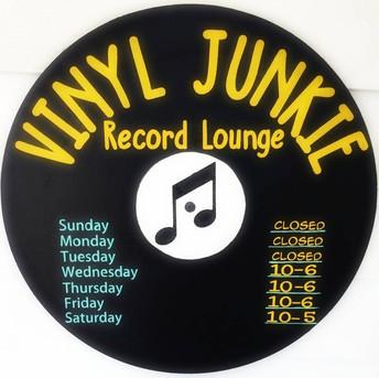 Vinyl Junkie Record Lounge