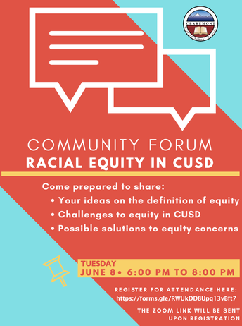 Community Forum on Racial Equity