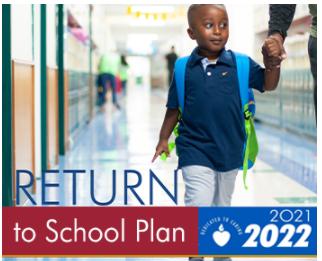 Return to School Protocols for 2021-22