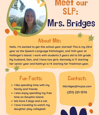 Mrs. Bridges, Speech