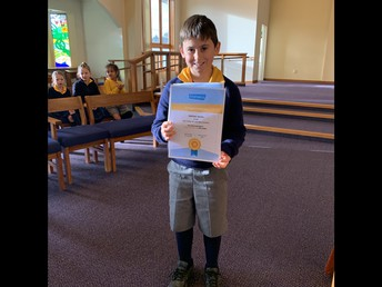 GOLD Mathletics award