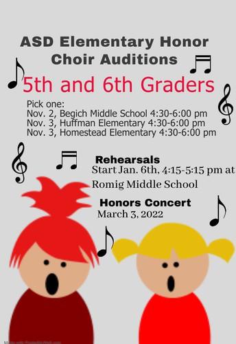 ASD Honor Choir