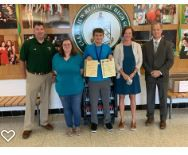 Congrats to Jared Morgan, who received a Perfect Score on the National Latin Exam
