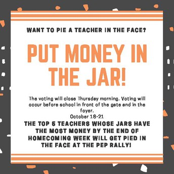 Pie-in-the-Face Fundraiser