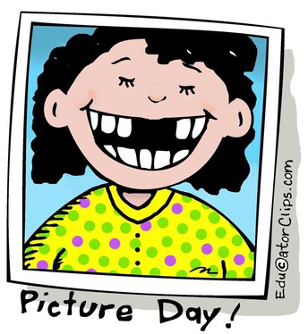 School Pictures are Wed. Sept. 29th
