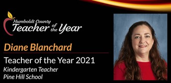 Humboldt County Teacher of the Year!