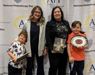 Ruxin McBride, Outstanding Young Philanthropist Award