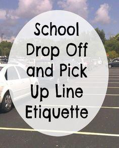 Drop-off reminder
