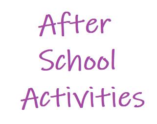 PTA After-School Activites... Start Next Week!