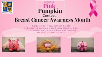 October Pink Pumpkin Contest