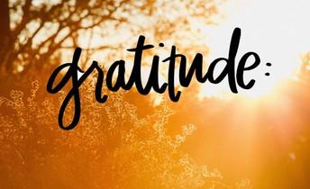 With Gratitude...