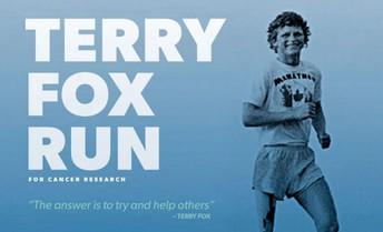 Terry Fox Run - September 28th