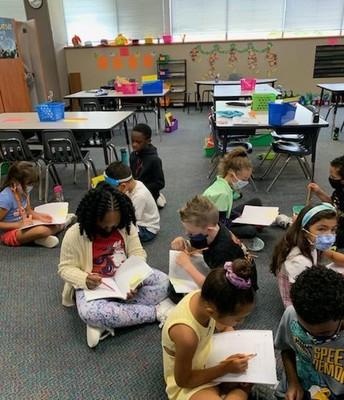 Purposeful Talk - Mrs. Moya's 1st Grade Class