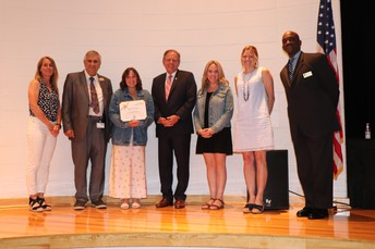 Board Recognizes Outgoing Student Member of the Board