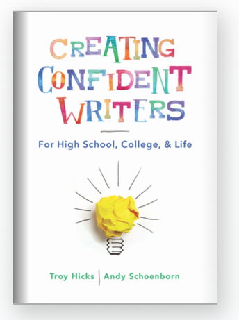 Be one of three lucky educators to receive a free copy of Andy's book, Creating Confident Writers