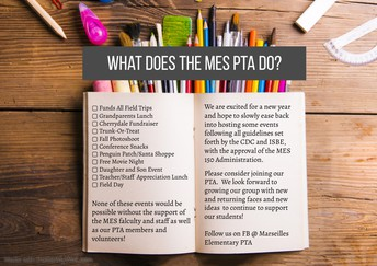 See How PTA Supports MES!