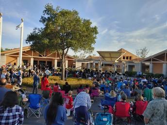 Open Air Orchestra/Band at Mesa Verde