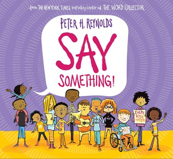 SEL book for October: Say Something!