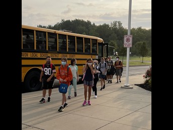1st Day Bus Riders