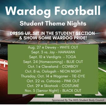 Football Student Themes