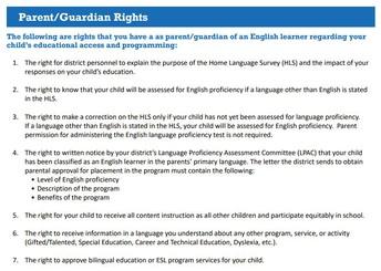 Parents/Guardian Rights