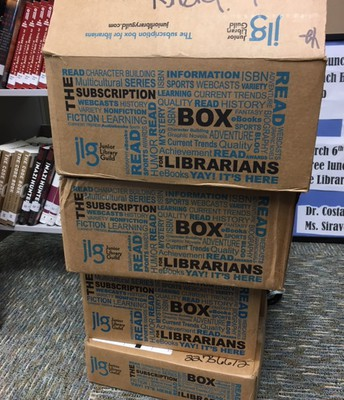 New BHS Library print Books!