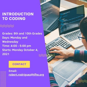 Introduction to Coding!