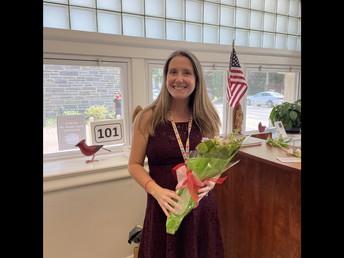 Congratulations Mrs. Hale