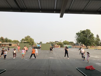 Family Zumba Was a Hit!