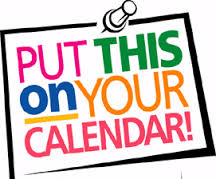 Fall Calendar Reminders