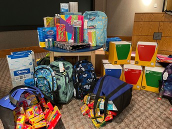 Topeka Public Schools and West Ridge Mall Partner to Collect School Supplies for Children In Need