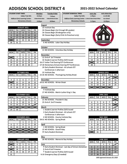 ASD4 Calendar
