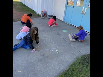 Every Child Matters Sidewalk Chalk