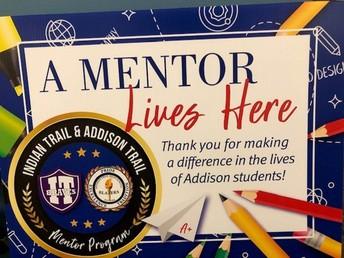 Help Needed - Addison Mentor Program